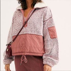 """Free People Movement """"BFF"""" pull over Jacket Sz S"""